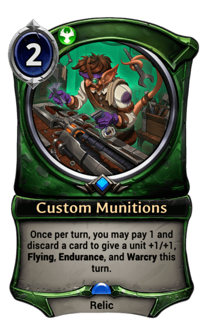 Card image for Custom Munitions