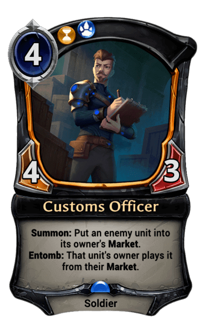 Card image for Customs Officer