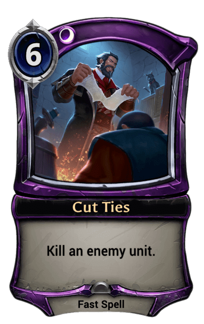Card image for Cut Ties