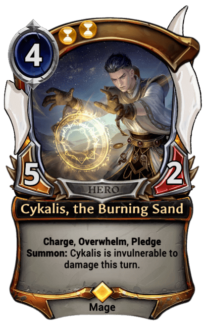 Card image for Cykalis, the Burning Sand