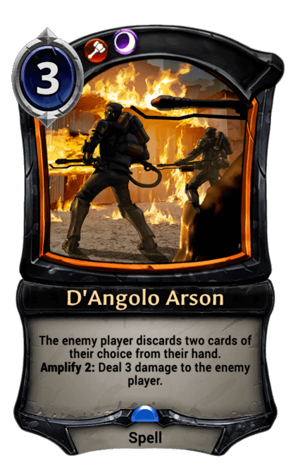 Card image for D'Angolo Arson