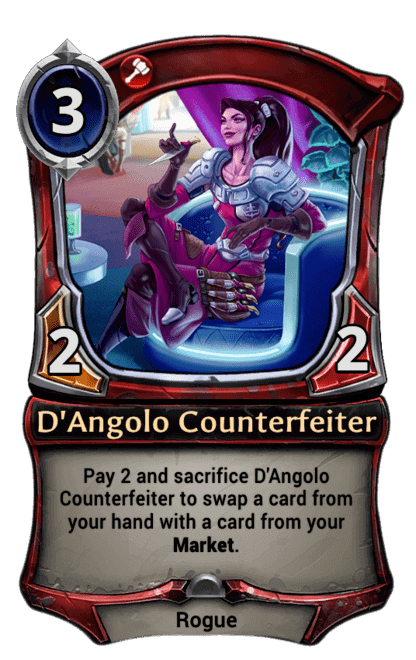 Card image for D'Angolo Counterfeiter