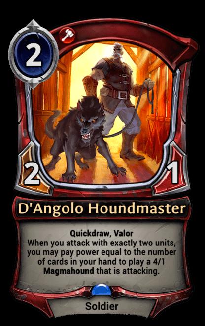 Card image for D'Angolo Houndmaster