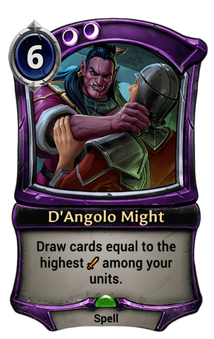 Card image for D'Angolo Might