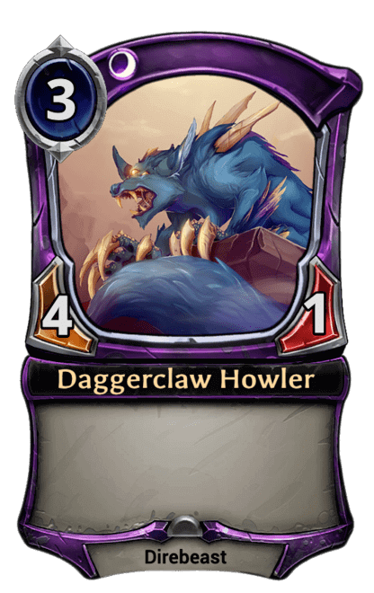 Card image for Daggerclaw Howler