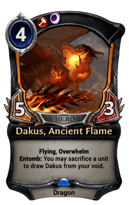 Card image for Dakus, Ancient Flame