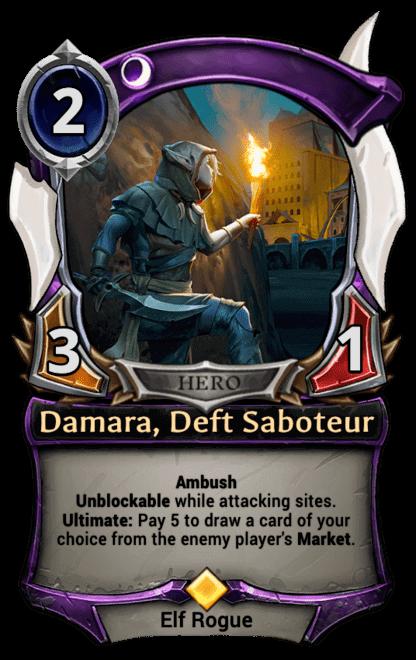 Card image for Damara, Deft Saboteur