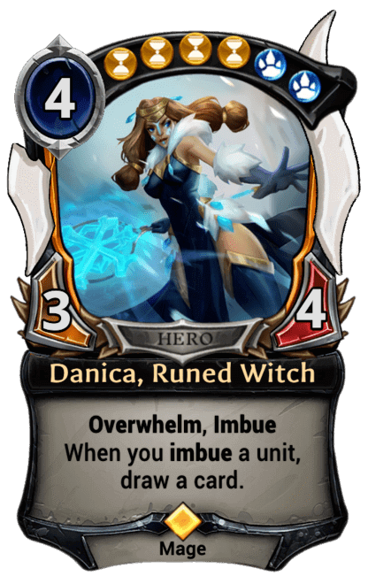 Card image for Danica, Runed Witch