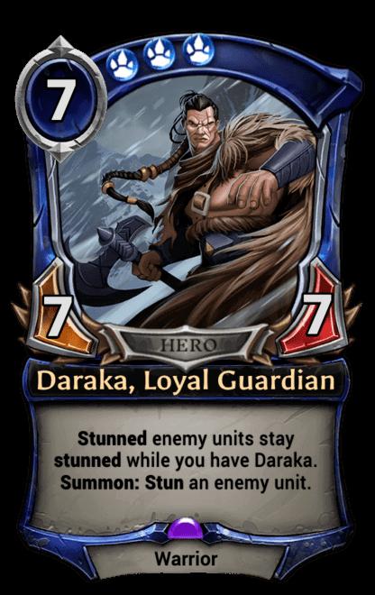 Card image for Daraka, Loyal Guardian
