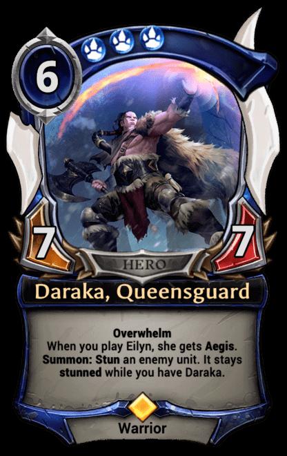 Card image for Daraka, Queensguard