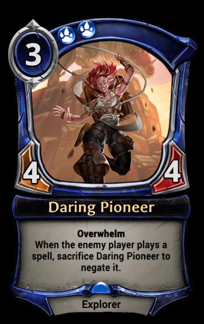 Card image for Daring Pioneer