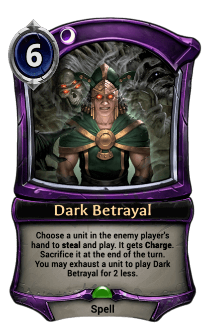 Card image for Dark Betrayal