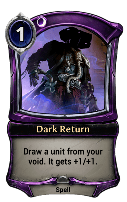 Card image for Dark Return