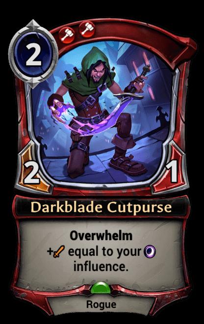 Card image for Darkblade Cutpurse