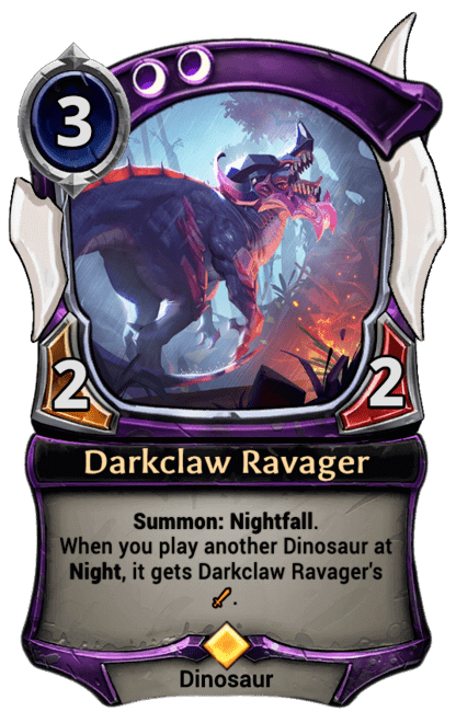 Card image for Darkclaw Ravager