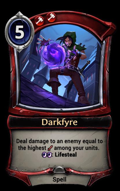 Card image for Darkfyre