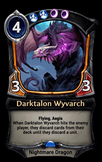 Card image for Darktalon Wyvarch
