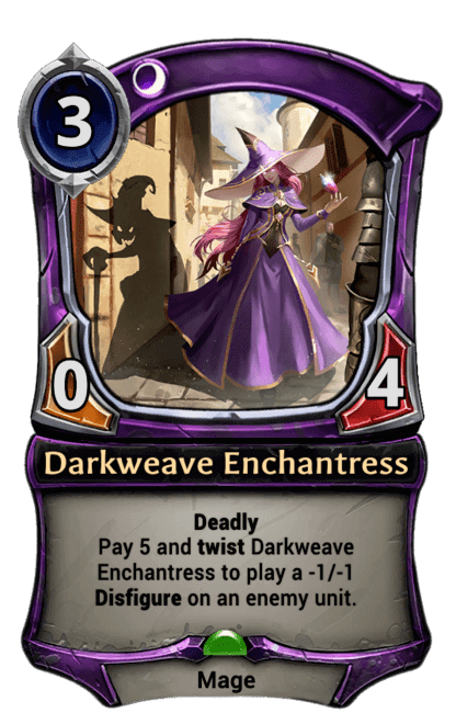 Card image for Darkweave Enchantress