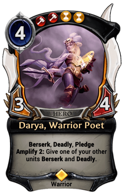 Card image for Darya, Warrior Poet