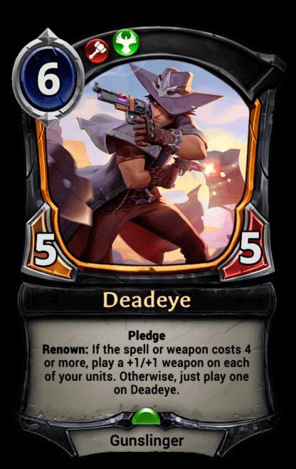 Card image for Deadeye