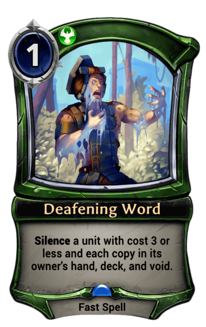 Card image for Deafening Word