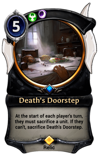 Card image for Death's Doorstep