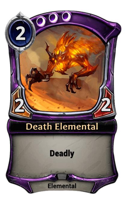 Card image for Death Elemental