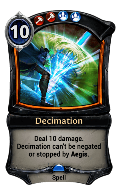 Card image for Decimation