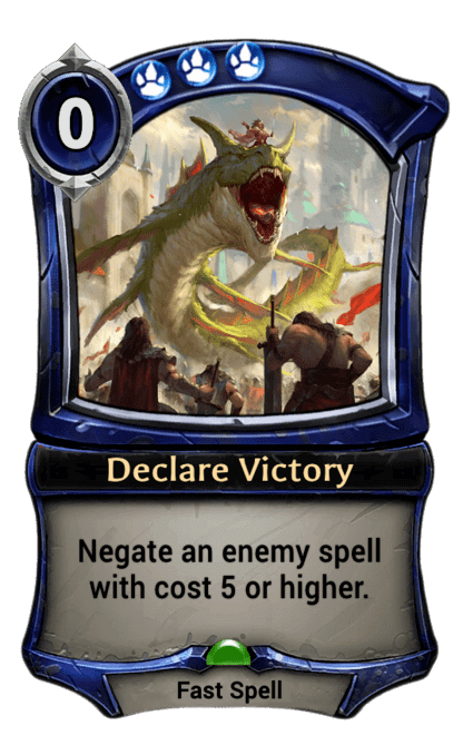 Card image for Declare Victory