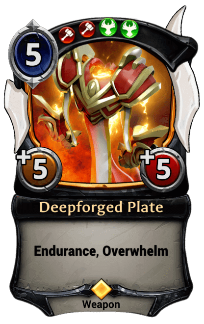 Card image for Deepforged Plate
