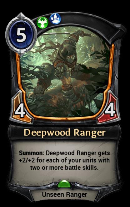 Card image for Deepwood Ranger