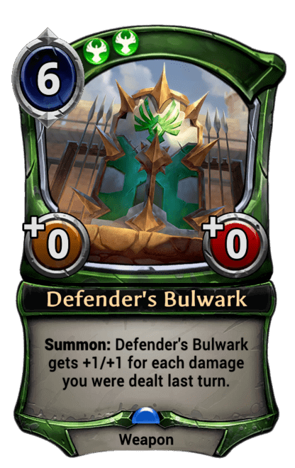 Card image for Defender's Bulwark