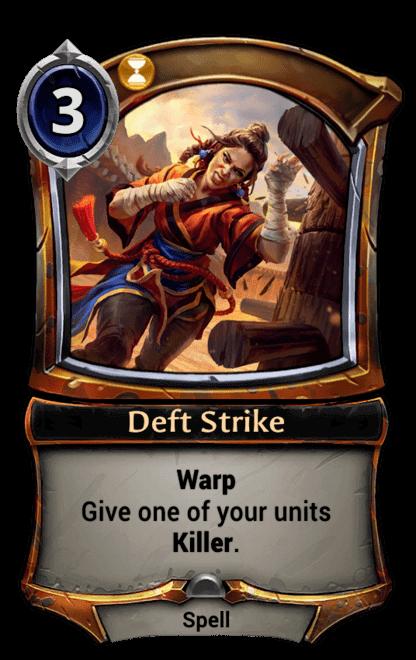 Card image for Deft Strike