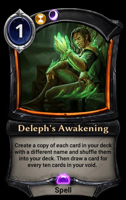 Card image for Deleph's Awakening