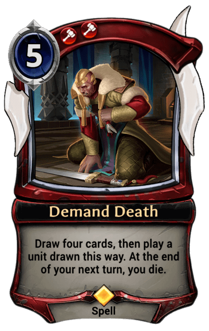 Card image for Demand Death