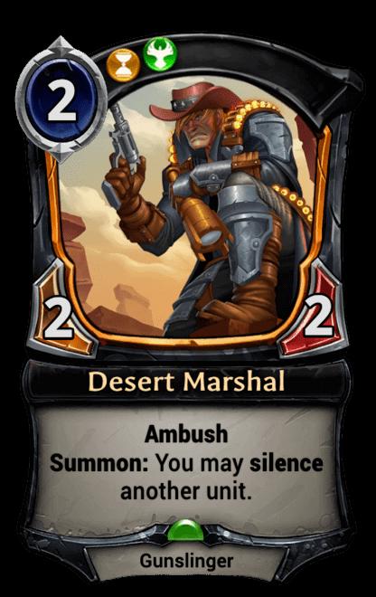 Card image for Desert Marshal