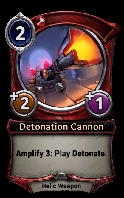 Card image for Detonation Cannon
