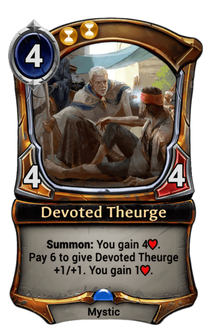 Card image for Devoted Theurge