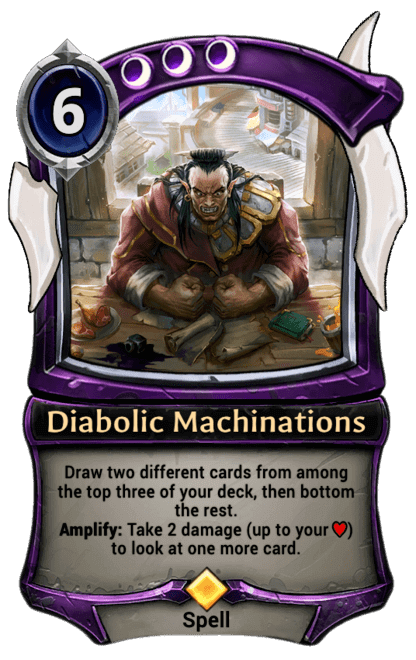 Card image for Diabolic Machinations