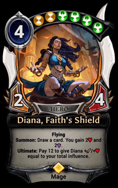 Card image for Diana, Faith's Shield