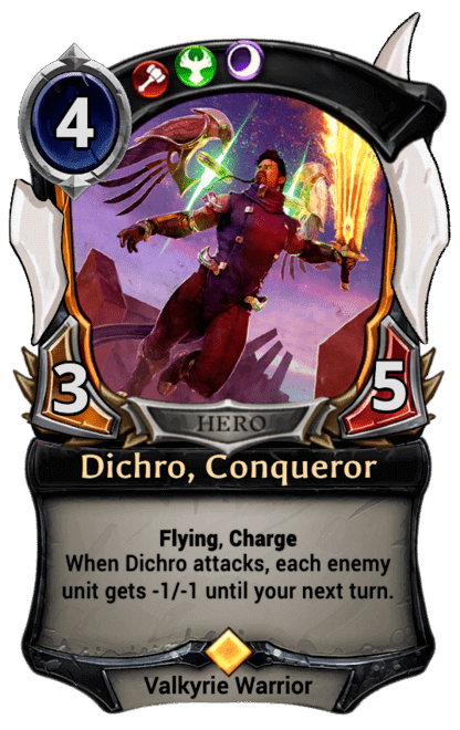 Card image for Dichro, Conqueror