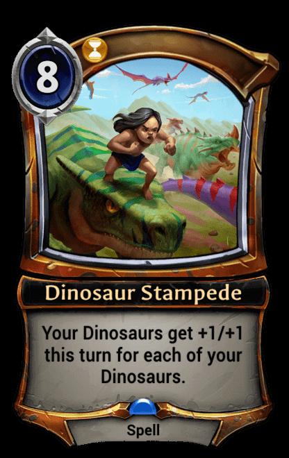 Dinosaur Stampede Eternal Cards Eternal Warcry