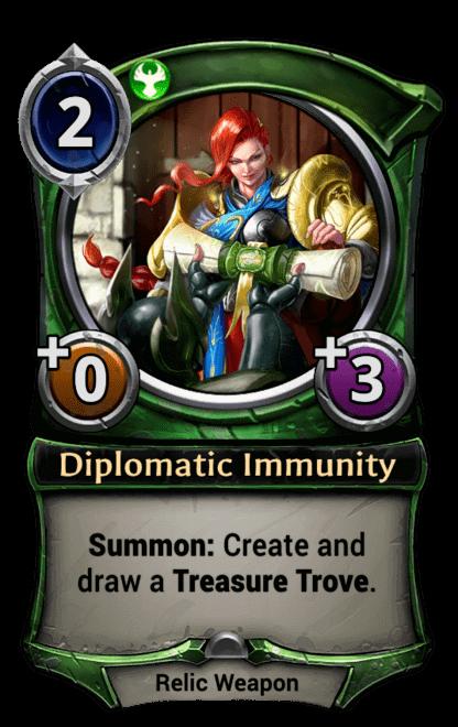 Card image for Diplomatic Immunity