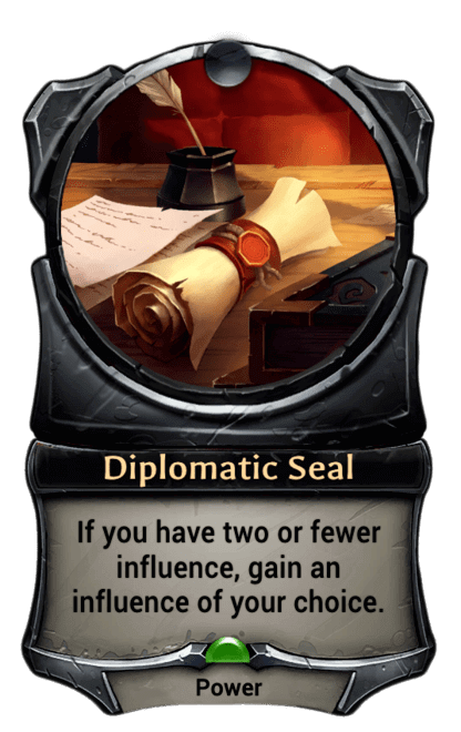 Card image for Diplomatic Seal