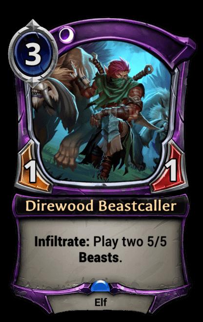 Card image for Direwood Beastcaller
