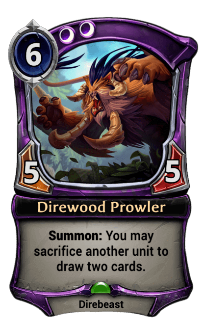 Card image for Direwood Prowler