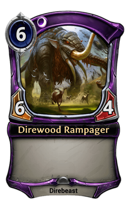 Card image for Direwood Rampager