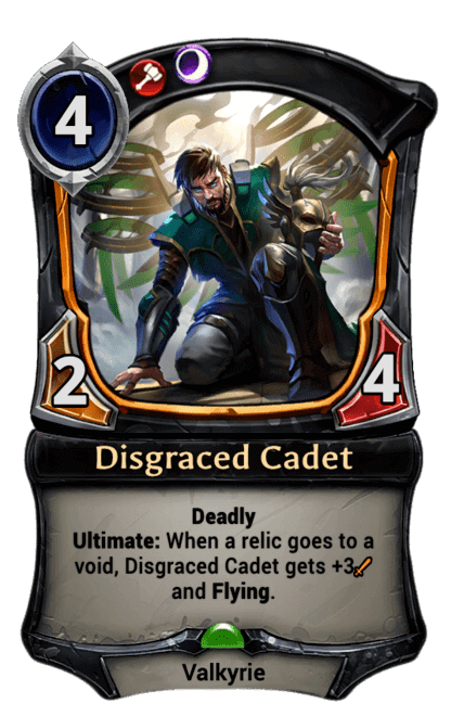 Card image for Disgraced Cadet