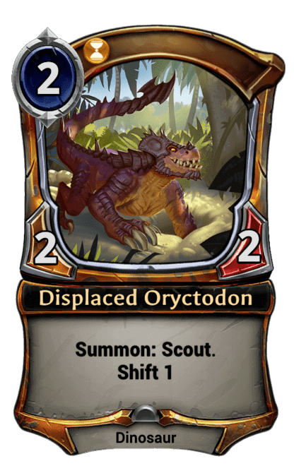 Card image for Displaced Oryctodon