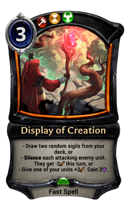 Card image for Display of Creation